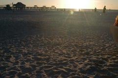 Spiaggia della Florida Fotografie Stock