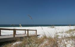 Spiaggia della Florida Fotografia Stock