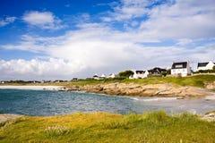 Spiaggia della Gran-Bretagna (Francia) Fotografia Stock