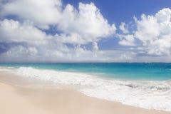 Spiaggia della gru Fotografia Stock Libera da Diritti