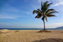 Spiaggia della Malesia Pulau Tiaoman Fotografie Stock