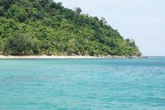 Spiaggia della Malesia in Tioman Immagine Stock