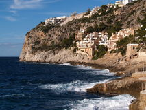 Spiaggia della Mallorca Immagini Stock