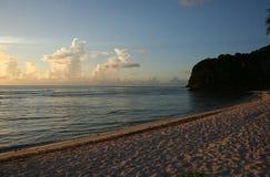 Spiaggia della pistola, Guam Fotografia Stock