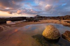 Spiaggia della regione selvaggia Fotografia Stock Libera da Diritti