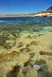 Spiaggia della roccia Immagini Stock Libere da Diritti