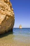 Spiaggia della roccia Immagine Stock