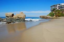 Spiaggia della roccia della Tabella, Laguna Beach del sud, California fotografie stock libere da diritti