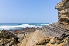 Spiaggia della roccia di Chakas Fotografia Stock