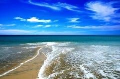 Spiaggia della sabbia Fotografia Stock Libera da Diritti