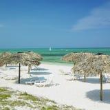 Spiaggia della Santa Lucia, Cuba fotografia stock libera da diritti