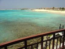Spiaggia della Santa Maria nelle isole del capo Fotografia Stock