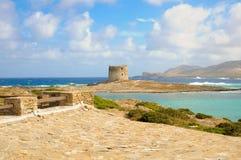 Spiaggia della Sardegna Fotografia Stock