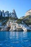 Spiaggia della Sardegna Cala Goloritze Fotografia Stock Libera da Diritti