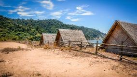 Spiaggia della scarpa del cavallo, Tanintharyi Regin, Myanmar Fotografie Stock