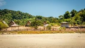 Spiaggia della scarpa del cavallo, Tanintharyi Regin, Myanmar Fotografia Stock Libera da Diritti