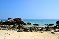 Spiaggia della scogliera immagini stock libere da diritti