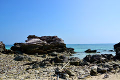 Spiaggia della scogliera immagine stock libera da diritti