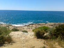 Spiaggia della Spagna fotografia stock