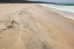 Spiaggia della Spagna del sud Fotografia Stock Libera da Diritti