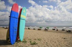 Spiaggia della spuma Immagini Stock
