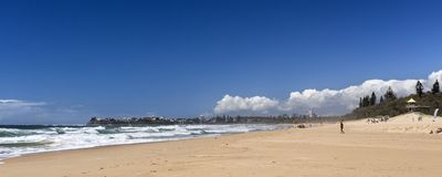 Spiaggia della spuma di Currimundi del †della costa del sole « fotografia stock