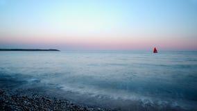 Spiaggia della st Austell, Cornovaglia Immagine Stock Libera da Diritti
