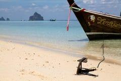 Spiaggia della Tailandia Fotografia Stock