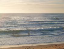 Spiaggia della valle di Mona Fotografie Stock