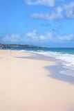 Spiaggia delle Barbados Fotografie Stock Libere da Diritti