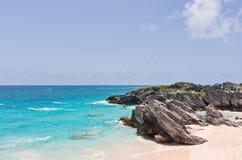Spiaggia delle Bermude Immagini Stock Libere da Diritti