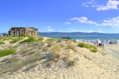 Spiaggia delle dune Fotografie Stock