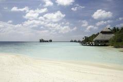 Spiaggia delle Maldive Immagine Stock