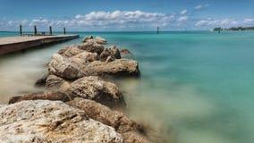 Spiaggia delle mandibole Immagini Stock