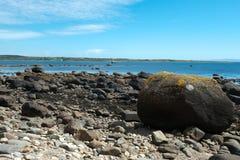Spiaggia delle pietre Immagine Stock