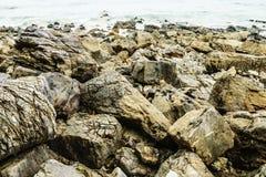 Spiaggia delle rocce Fotografie Stock