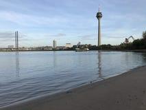 Spiaggia dello sseldorf del ¼ di DÃ fotografia stock libera da diritti