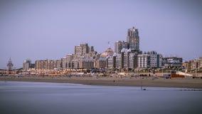 Spiaggia Den Haag di Scheveningen Immagini Stock