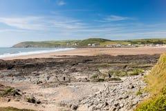 Spiaggia Devon England Regno Unito di Croyde Immagini Stock