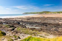 Spiaggia Devon England Regno Unito di Croyde Fotografie Stock