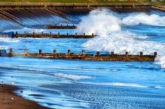 Spiaggia di Aberdeen Immagine Stock