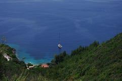Spiaggia di Afteli Fotografia Stock Libera da Diritti