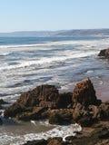 Spiaggia di Agadir Immagini Stock Libere da Diritti