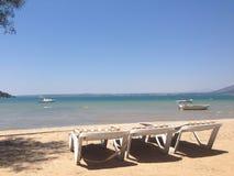 Spiaggia di Akbuk Immagini Stock