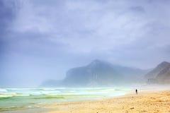 Spiaggia di Al Mughsayl Fotografia Stock Libera da Diritti