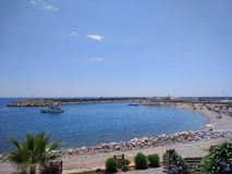 Spiaggia di Alanya Fotografia Stock Libera da Diritti
