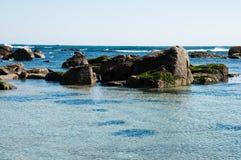 Spiaggia di Algarrobo Fotografia Stock