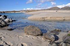 Spiaggia di Allihies Immagine Stock