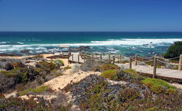 Spiaggia di Almograve Fotografia Stock Libera da Diritti