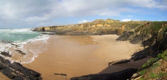Spiaggia di Almograve Immagini Stock Libere da Diritti